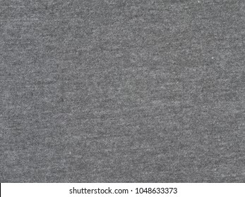 Charcoal heather gray t-shirt heavy cotton knitted fabric texture swatch