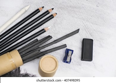 charcoal painting equipments