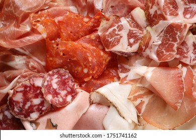 Charcuterie Salumi plate in Rome Italy