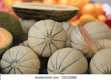 Charentais-Melon on the market
