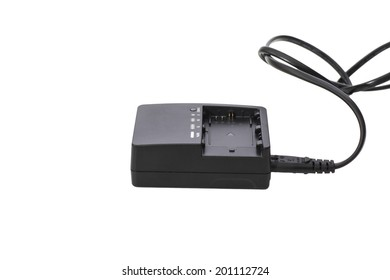 Charger  isolated on white