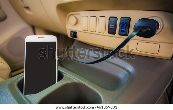 Charger plug phone smart phone on car