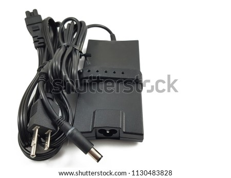 charger power adapter isolated