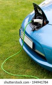 Charging a modern electric car