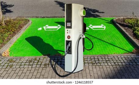 Charging station Electric filling station Fuel pump