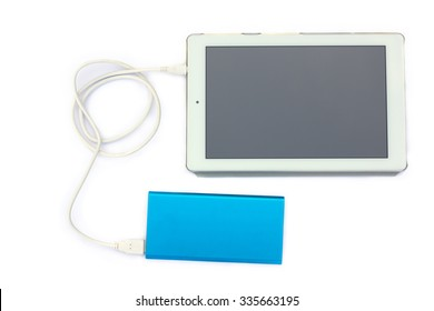 Charging a tablet with Power Bank