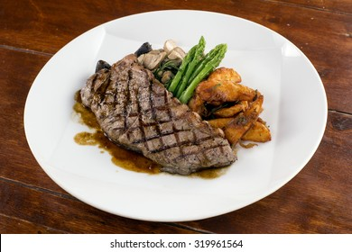 Char-Grilled Beef Sirloin