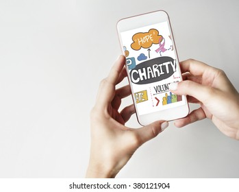 Charity Donate Give Hope Aid Concept