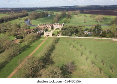 Charlecote Park aerial Aerial Photography of Stratford upon Avon