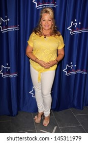Charlene Tilton at an appearance by Charlene Tilton and Charles Fleischer, In Person Inc., Hollywood, CA 07-06-13