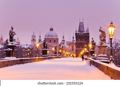 Charles bridge, Old Town bridge tower, Prague (UNESCO), Czech republic, Europe