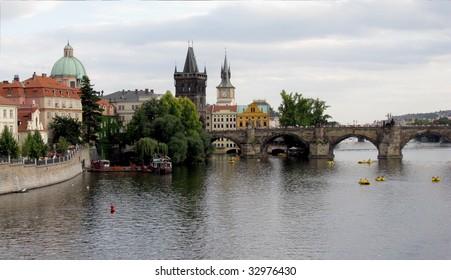 Charles (Karlow) bridge in Prague