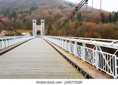 Charles-Albert bridge (Pont de la Caille), Cruseilles, France