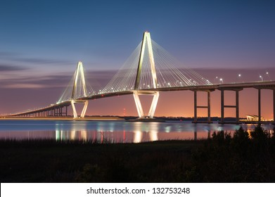 Charleston South Carolina Arthur Ravenel Jr. Cooper River Cable-Stay Bridge