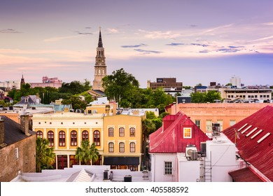 Charleston South Carolina Skyline