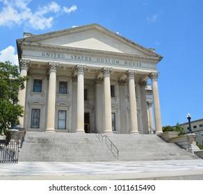 CHARLESTON SOUTH CAROLINA USA JUNE 27 2016: Trinity United Methodist Church began in 1786 as the Cumberland Street (Methodist) Church with 35 white and 23 black members.