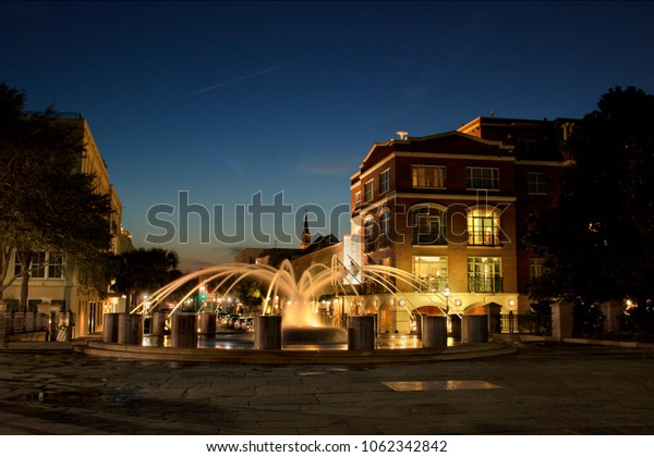 Charleston, South Carolina - Waterfront Park fountain