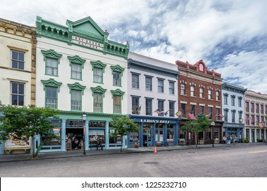 Charleston,SC,USA on 16th May 2018: Charleston is the oldest and largest city in the U.S. state of South Carolina. The city was founded in 1670 as Charles Town, honoring King Charles II of England
