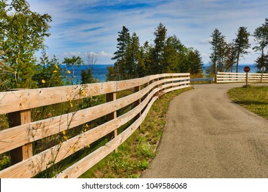 Charlevoix Michigan on Lake Michigan is a beautiful vacation destination.  A bike and running trail connects this city to popular Petoskey.