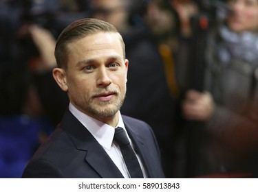 Charlie Hunnam  attend the 'The Lost City of Z' premiere during the 67th  Film Festival Berlin at Zoo Palast on February 14, 2017 in Berlin, Germany.