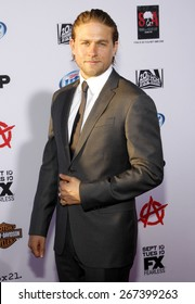 """Charlie Hunnam at the FX's Season 6 Premiere Screening of """"Sons Of Anarchy"""" held at the Dolby Theatre in Hollywood on September 7, 2013."""
