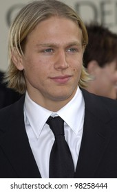 CHARLIE HUNNAM at the Golden Globe Awards at the Beverly Hills Hilton Hotel. 19JAN2003.  Paul Smith / Featureflash