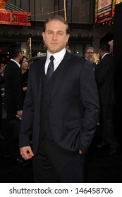 """Charlie Hunnam at the """"Pacific Rim"""" Los Angeles Premiere, Dolby Theater, Hollywood, CA 07-09-13"""