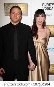 Charlie Hunnam at the Second Annual Critics' Choice Television Awards, Beverly Hilton, Beverly Hills, CA 06-18-12