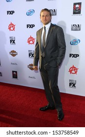 """Charlie Hunnam at the """"Sons of Anarchy"""" Season Six Premiere Screening, Dolby Theatre, Hollywood, CA 09-07-13"""