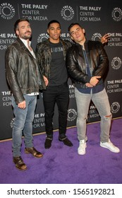 """Charlie Weber, Rome Flynn, Conrad Ricamora attend Paley Center For Media Presents: An Evening With """"How To Get Away With Murder"""" at The Paley Center for Media, Beverly Hills, CA on November 19, 2019"""