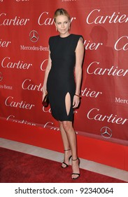 Charlize Theron at the 2012 Palm Springs Film Festival Awards Gala at the Palm Springs Convention Centre. January 7, 2012  Palm Springs, CA Picture: Paul Smith / Featureflash