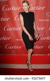 Charlize Theron at the 23rd Annual Palm Springs International Film Festival Awards Gala, Palm Springs Convention Center, Palm Springs, CA 01-07-12