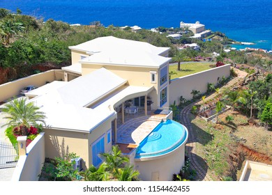 Charlotte Amalie, US Virgin Islands-20 May, 2017: Charlotte Amalie Bay in Saint Thomas Island