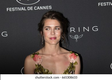 Charlotte Casiraghi at the Women in Motion Awards Dinner  for at the 70th Festival de Cannes.May 21, 2017 Cannes, France