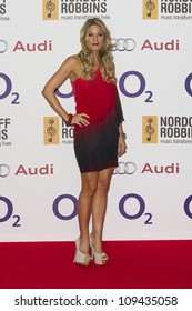 Charlotte Jackson arriving for the Silver Clef Awards, Hilton Hotel, Park Lane, London.  29/06/2012 Picture by: Simon Burchell / Featureflash