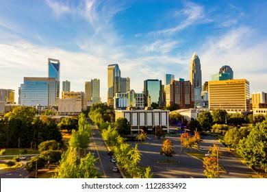 Charlotte, NC City Scape