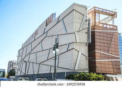 CHARLOTTE, NC, USA-30 OCTOBER 2018: The Harvey B. Gantt Center for African-American Arts & Culture.