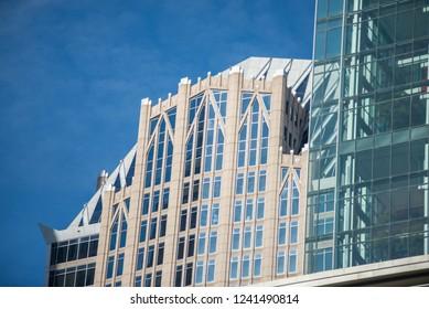 charlotte north carolina city buildings skyline