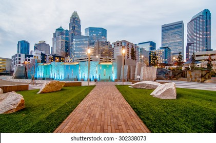 charlotte north carolina skyline