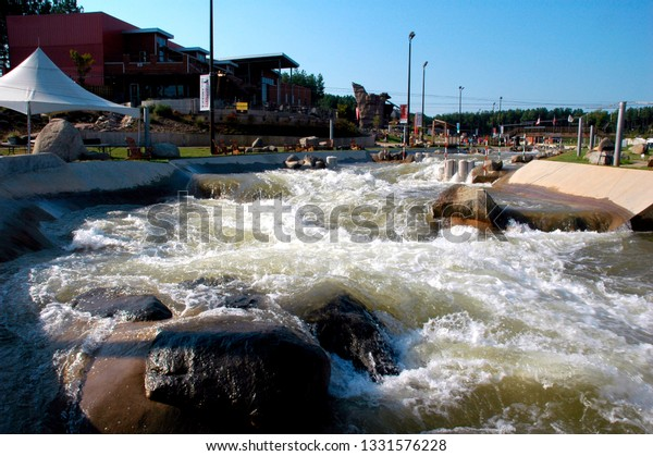 Charlotte, North Carolina, USA,  US National Whitewater Center, September 19, 2008