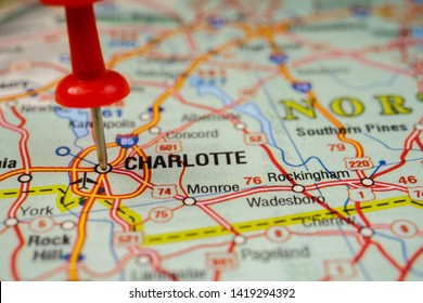 Charlotte In Usa Map on