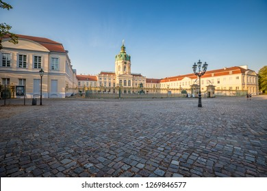 The Charlottenburg Palace in Berlin Germany