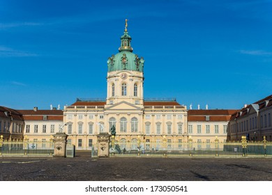 Charlottenburg Palace in Berlin, Germany.