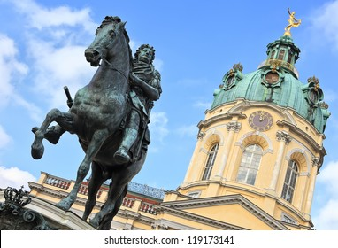 Charlottenburg Palace, monument to the Elector Friedrich III, Berlin, Germany