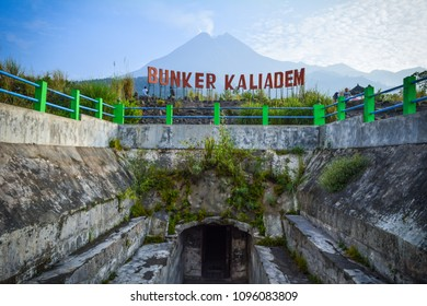 Charm beauty of Mount merapi from Bunker kaliadem, Yogyakarta