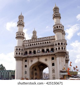 Charminar in Hyderabad, Telangana, India