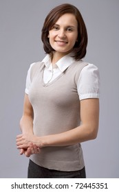 Charming business woman