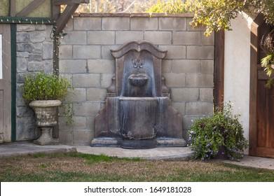 Charming Fountain at the Farm