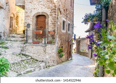 Charming, medieval town of Artena, close to Rome, Lazio, Italy