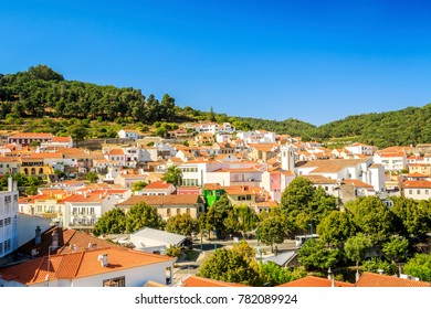 Charming Monchique in mountains of Algarve, Portugal